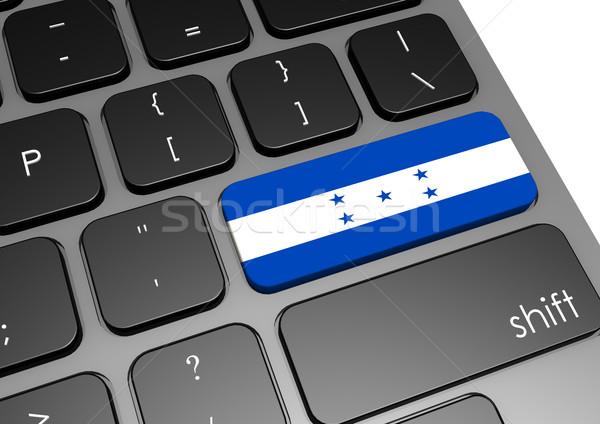 Honduras tastiera immagine reso usato Foto d'archivio © tang90246