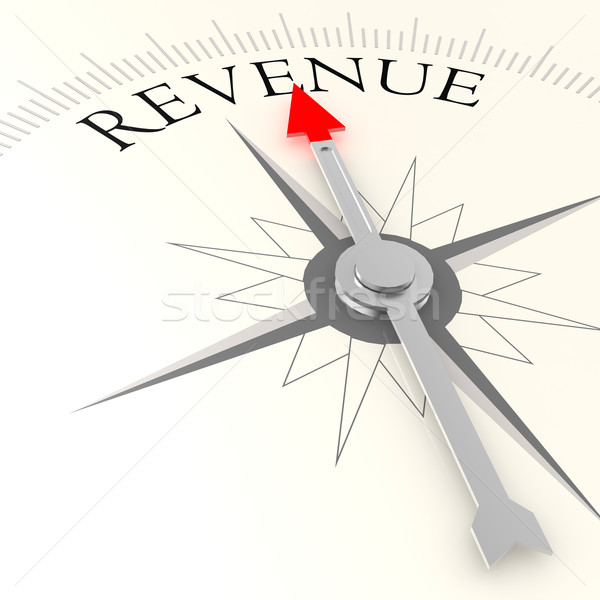 Revenue compass Stock photo © tang90246
