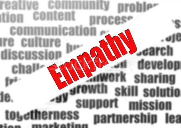 Empathy word cloud Stock photo © tang90246
