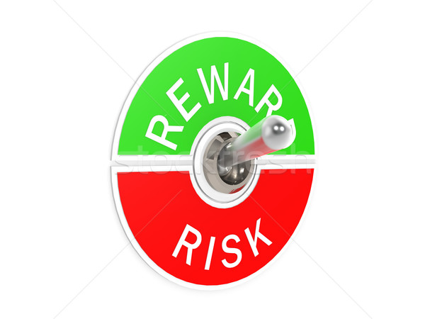 Risk reward toggle switch Stock photo © tang90246