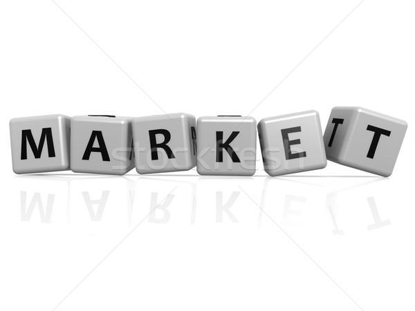 Market buzzword Stock photo © tang90246