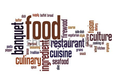 Food word cloud Stock photo © tang90246