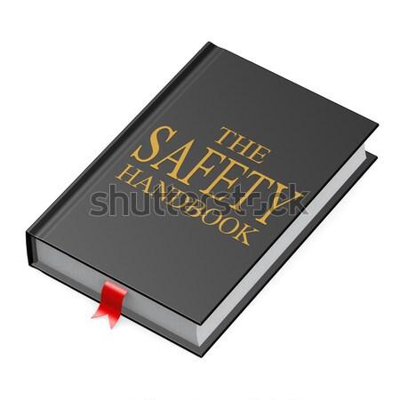 Preto manual escritório livro escolas fundo Foto stock © tang90246