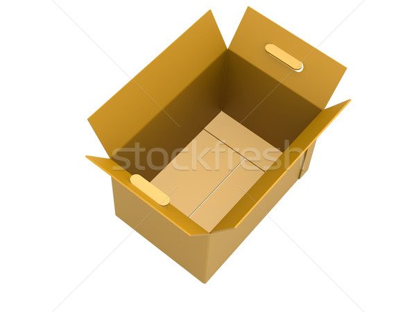 Open packing box Stock photo © tang90246