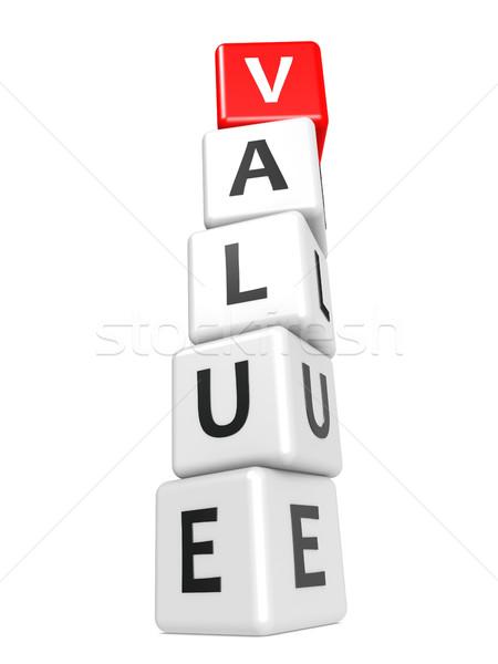 Wartość obraz świadczonych używany Zdjęcia stock © tang90246