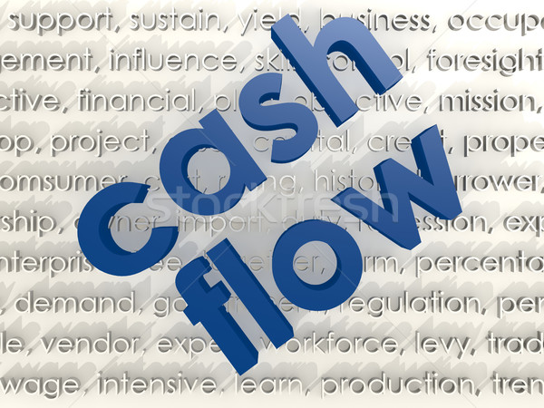 Cash flow Stock photo © tang90246