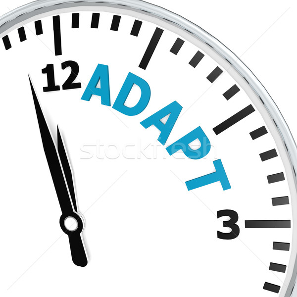 Adapt clock Stock photo © tang90246