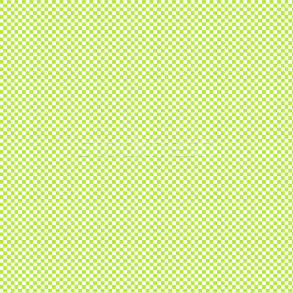 Green and white gingham background texture Stock photo © tang90246