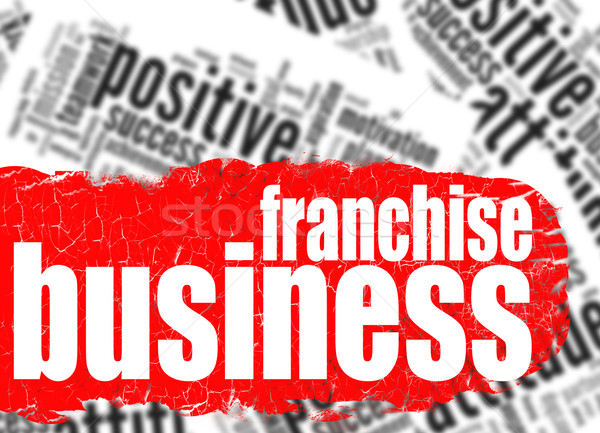 Word cloud franchise business Stock photo © tang90246