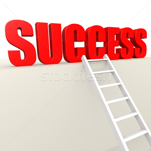 Ladder to success Stock photo © tang90246