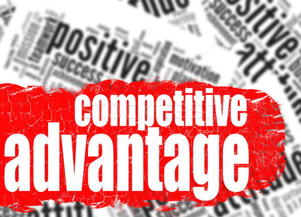 Word cloud competitive advantage Stock photo © tang90246