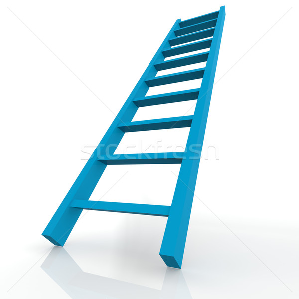 Blue ladder Stock photo © tang90246