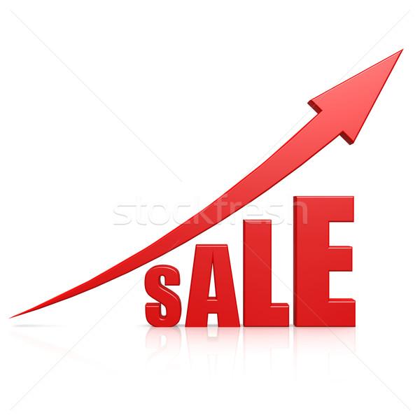 продажи стрелка аннотация дизайна фон веб Сток-фото © tang90246
