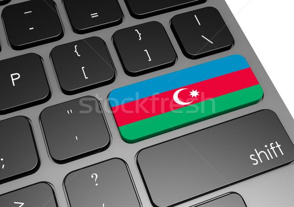 Foto stock: Azerbaiyán · teclado · imagen · prestados · utilizado