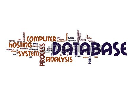Database word cloud Stock photo © tang90246