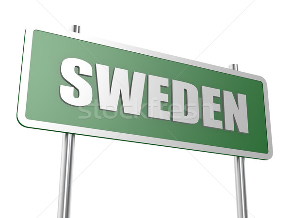 Швеция изображение оказанный используемый графического дизайна Сток-фото © tang90246