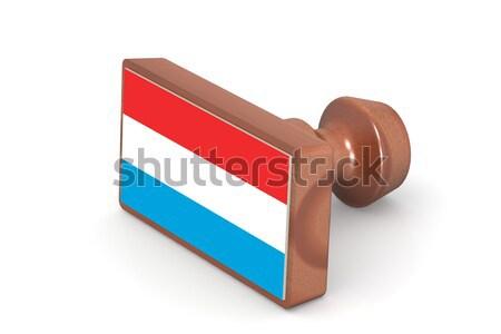 Sello Botswana bandera imagen prestados Foto stock © tang90246