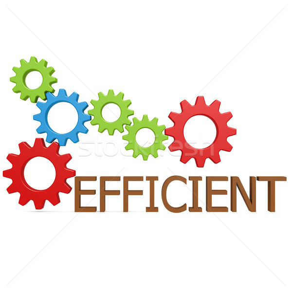 Efficient gear Stock photo © tang90246