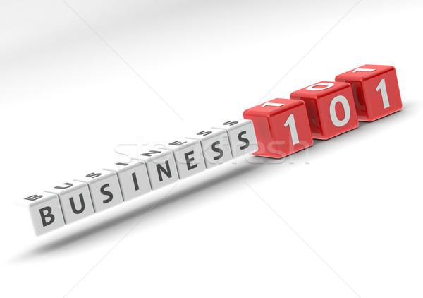 Negócio 101 imagem prestados usado Foto stock © tang90246