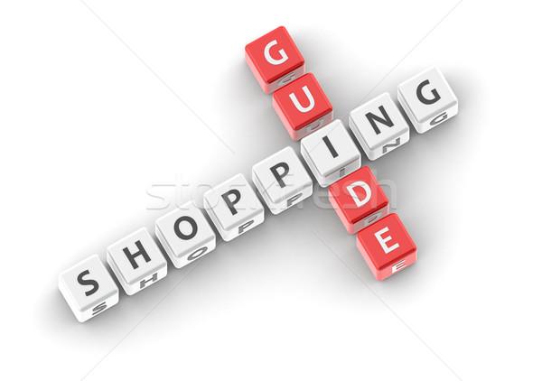 Compras orientar imagen prestados utilizado Foto stock © tang90246