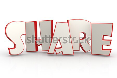 Skill word on white background Stock photo © tang90246