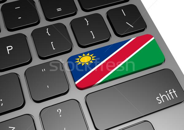 Намибия клавиатура изображение оказанный используемый Сток-фото © tang90246