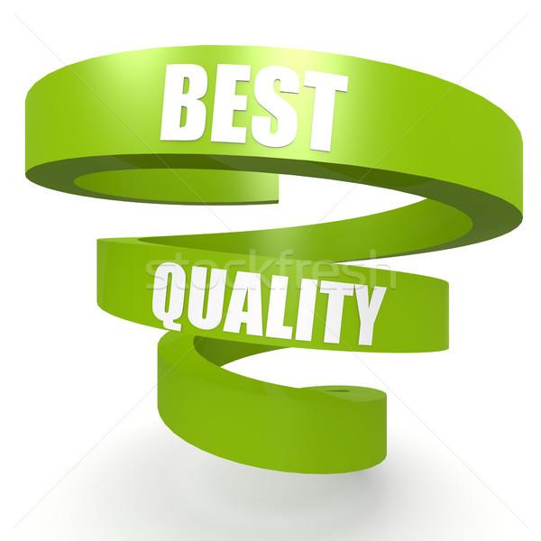 Migliore qualità verde elica banner segno Foto d'archivio © tang90246