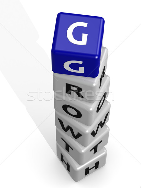 Growth buzzword Stock photo © tang90246