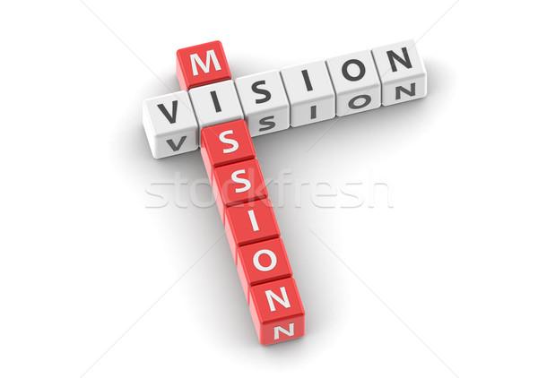 Mission vision Stock photo © tang90246