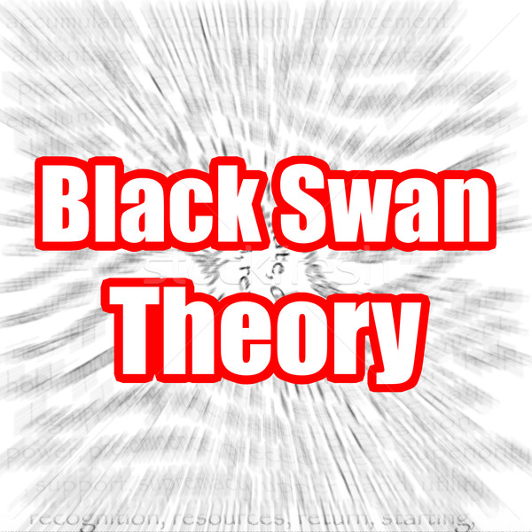 Black Swan Theory Stock photo © tang90246