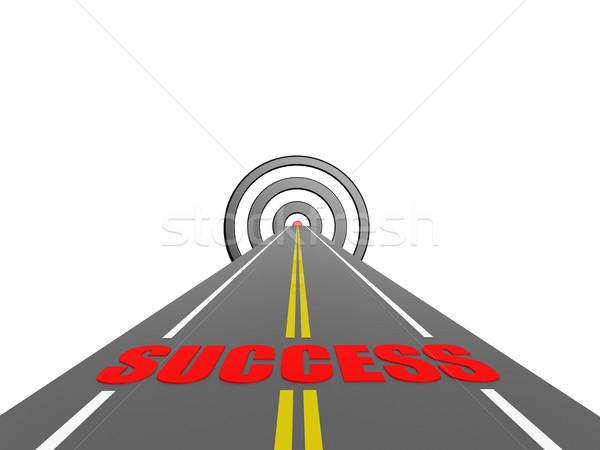 Road to success Stock photo © tang90246