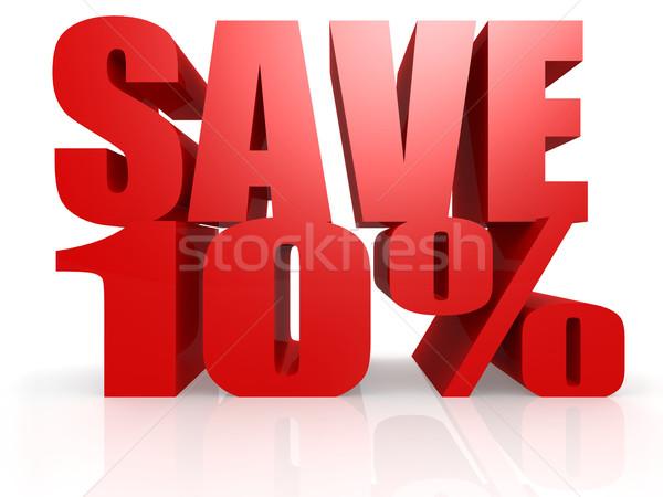 Save 10 percent Stock photo © tang90246