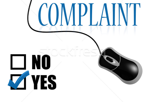 Complaint with mouse Stock photo © tang90246