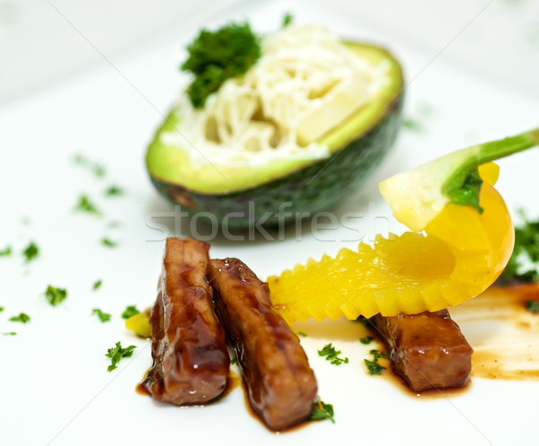 Gourmet food  Stock photo © tangducminh