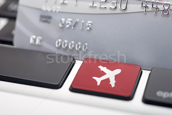 Online flight booking Stock photo © tangducminh
