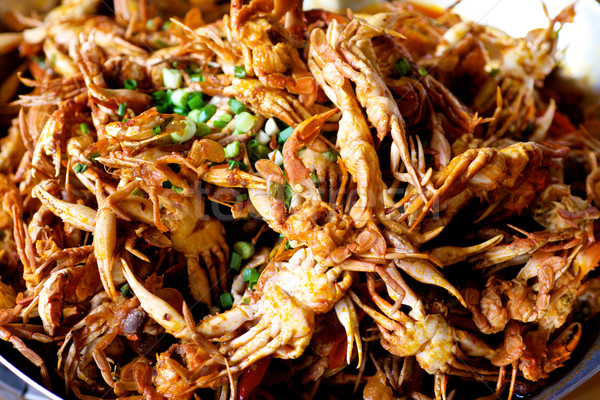 Fried Soft Shell Crab Stock photo © tangducminh
