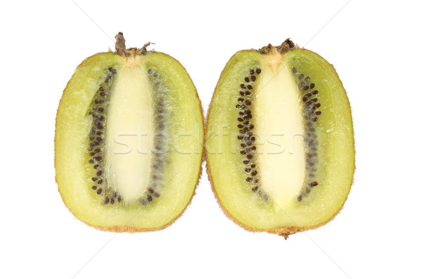 Cortar kiwi isolado fruto close-up Foto stock © tangducminh