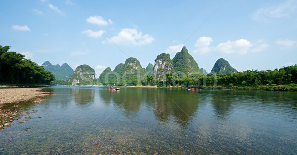 Guilin Yangshuo Sightseeing Stock photo © tangducminh