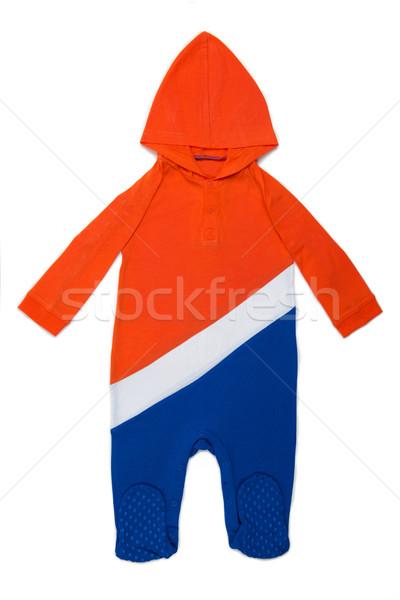 ребенка одежды Голландии длинный рукав голландский цветами Сток-фото © tangducminh