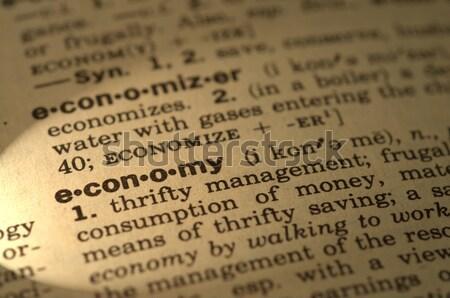 Dicionário definição luz para cima carta informação Foto stock © tangducminh