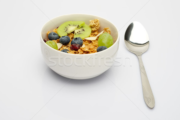 Stock photo: Bowl of Cereal