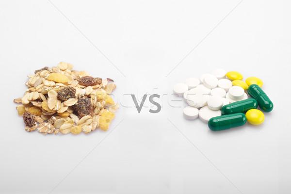 медицина здоровья продовольствие таблетки Сток-фото © tangducminh
