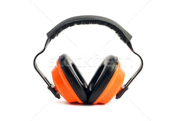 Ouvido proteção construção Foto stock © tangducminh