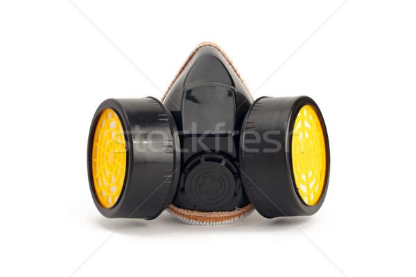 Masque à gaz peinture travail outil Photo stock © tangducminh