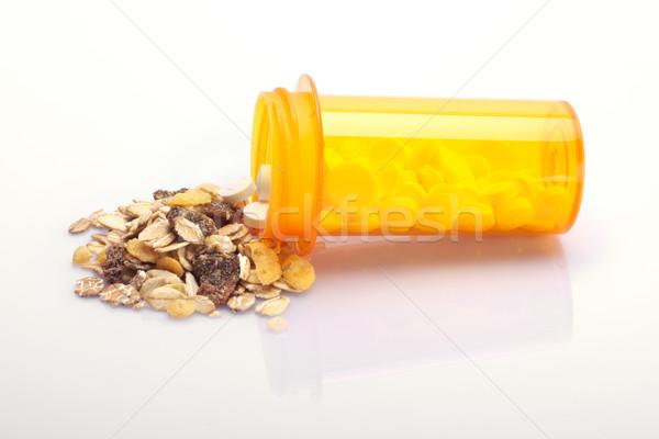 Medicina nutrição saúde refeição alimentação Foto stock © tangducminh