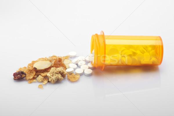 здорового наркотиков рецепт здоровья медицина диета Сток-фото © tangducminh