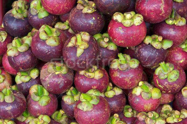 Мангостин Sweet тропические продовольствие сока свежие Сток-фото © tangducminh