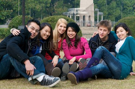 Study abroad student Stock photo © tangducminh