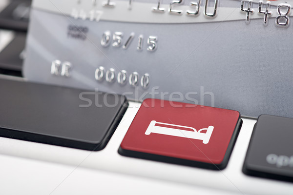 Online Hotel Reservation Stock photo © tangducminh