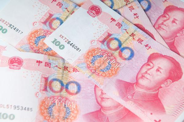 китайский деньги валюта красный власти евро Сток-фото © tangducminh